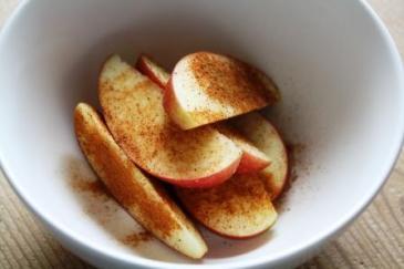 Eple-snacks